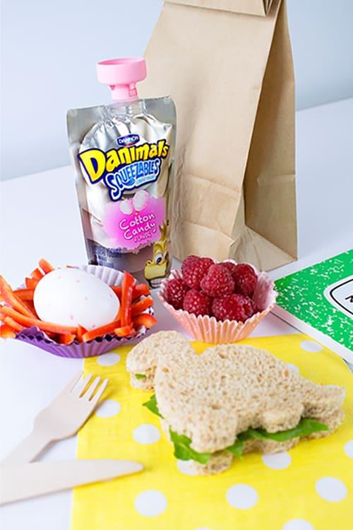 Dinosaur Kids Lunch Idea