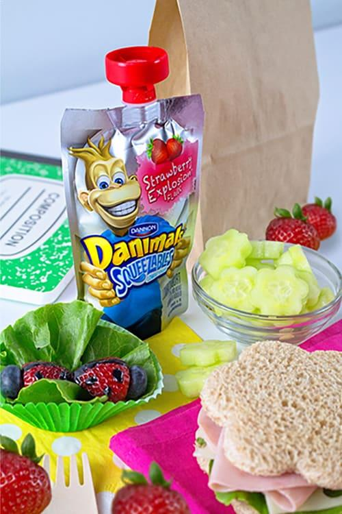 Garden Kids Lunch Idea