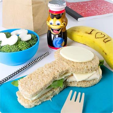 Secret Agent Kids Lunch Idea
