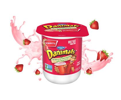 Strawberry Kids Nonfat Yogurt