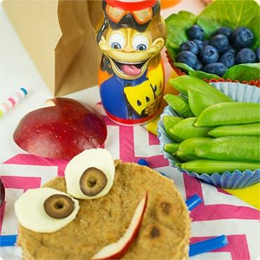 Summer Splash Kids Lunch Idea