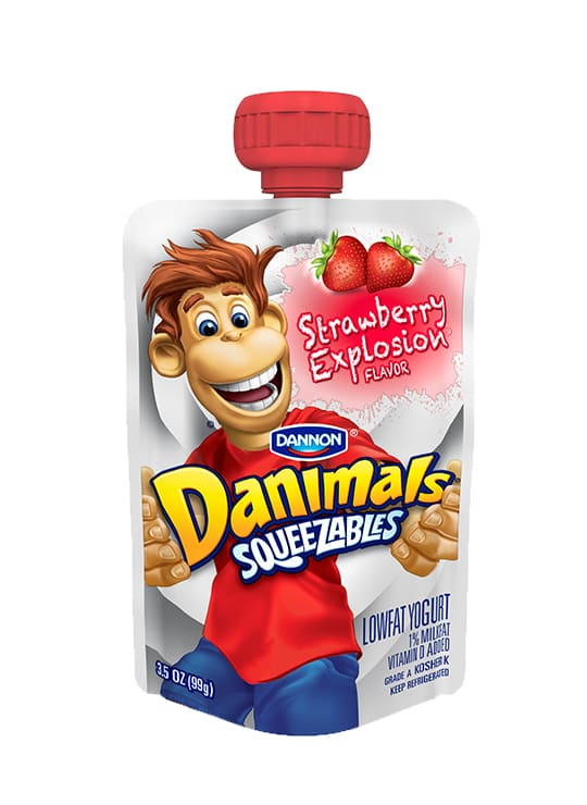 Danimals<sup>®</sup> Squeezables