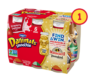 specially-marked Danimals packages
