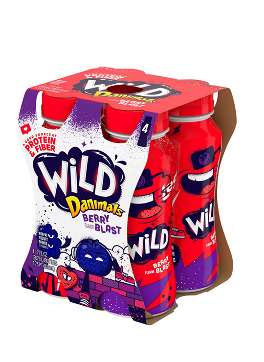 Danimals® Wild Berry Blast Kids Yogurt Drink