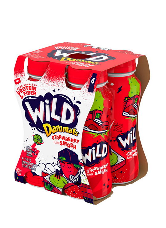 Danimals® Wild Strawberry Kids Yogurt Drink