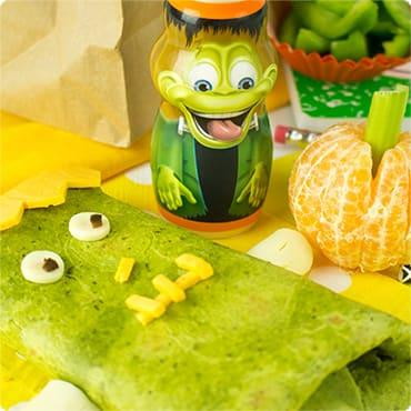 Franken-Wrap Kids Lunch Idea
