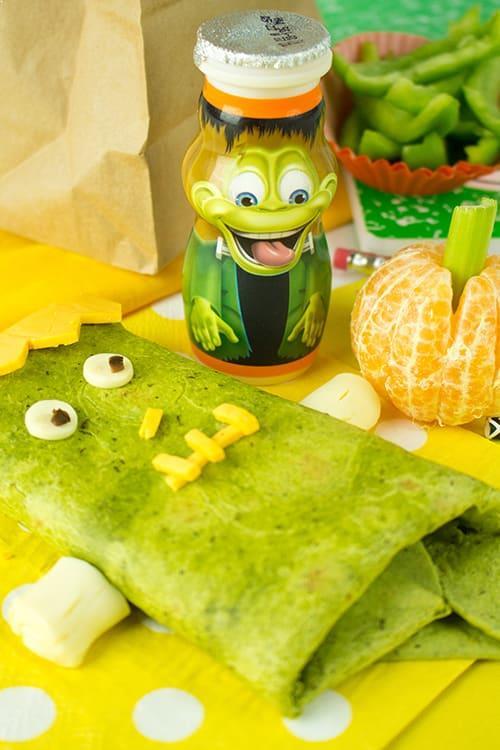 Franken-Wrap Kids Lunch Idea
