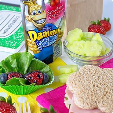 Garden Kids Lunch Idea