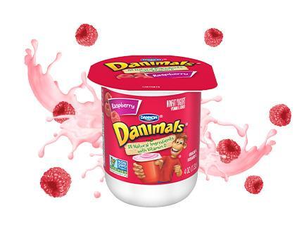 Raspberry Kids Nonfat Yogurt