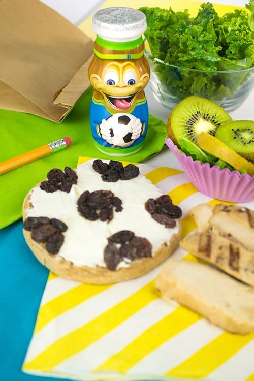 Soccer Kids Lunch Idea