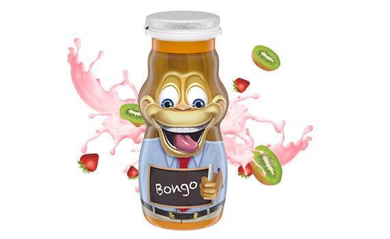 Strawberry Kiwi Kids Yogurt Smoothie