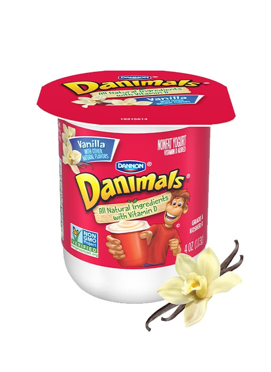 Vanilla Kids Nonfat Yogurt