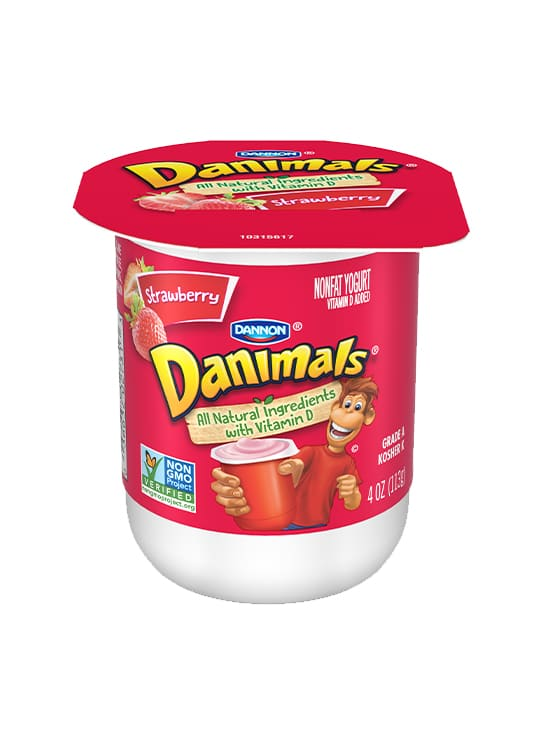 Danimals<sup>®</sup> Nonfat Yogurt