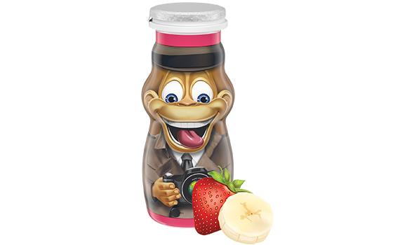 Danimals® Strawberry Banana Kids Organic Smoothie
