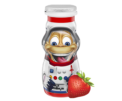 Danimals® Strawberry Kids Organic Smoothie